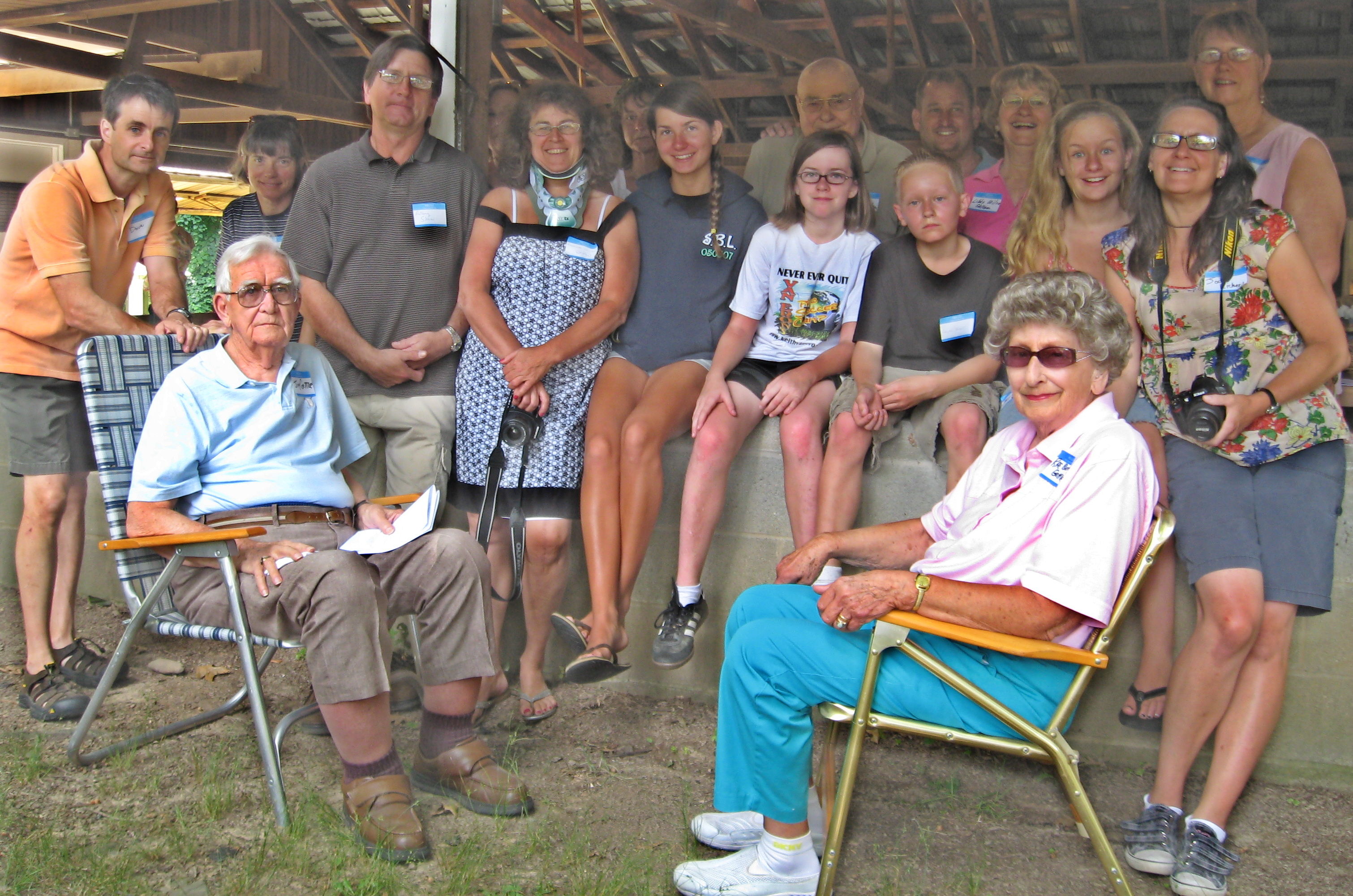 Patrick Family Reunion Druck Family Reunion